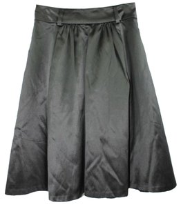 Banana Republic Satin Silk Skirt BLACK