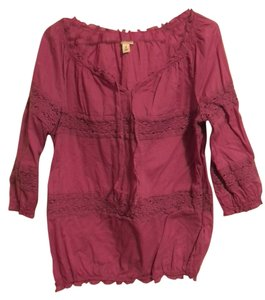 Old Navy Pretty Peasant Top Purple