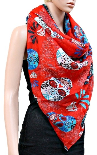 Other Skull Candy Sugar Coral Scarf Wrap