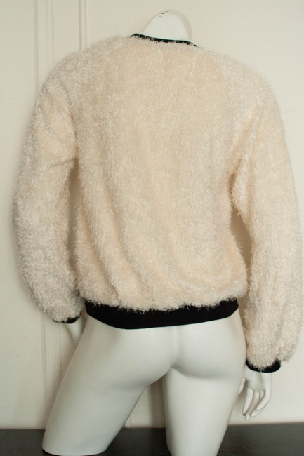 PacSun Knit Knitted Boucle Faux Shearling Hipster Boho Bohemian Hippy Hippie Cochella Burningman Spring Fall Preppy La Sweater