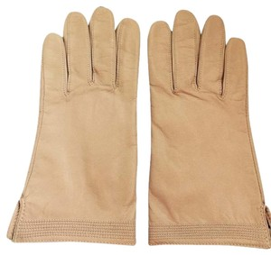 Other NEW CREME WOMAN'S LINED GLOVES WITH DECORATIVE STITCHING -SIZE 7.5