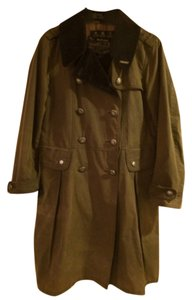 Barbour Green Trench Trench Coat