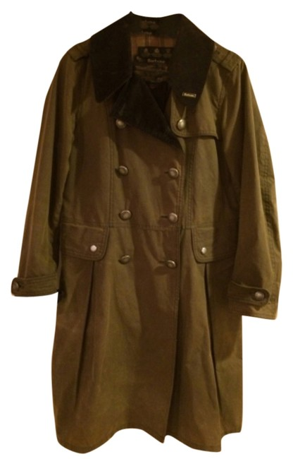 Preload https://item1.tradesy.com/images/barbour-green-trench-coat-6069040-0-0.jpg?width=400&height=650