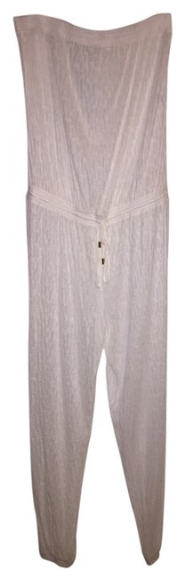 Item - Cream Stella Jumpsuit Cover-up/Sarong Size 12 (L)