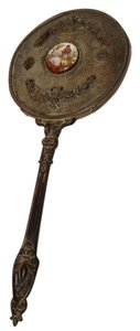 Antique hand mirror