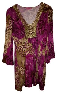 Joyous & Free Beaded Embellished Tunic