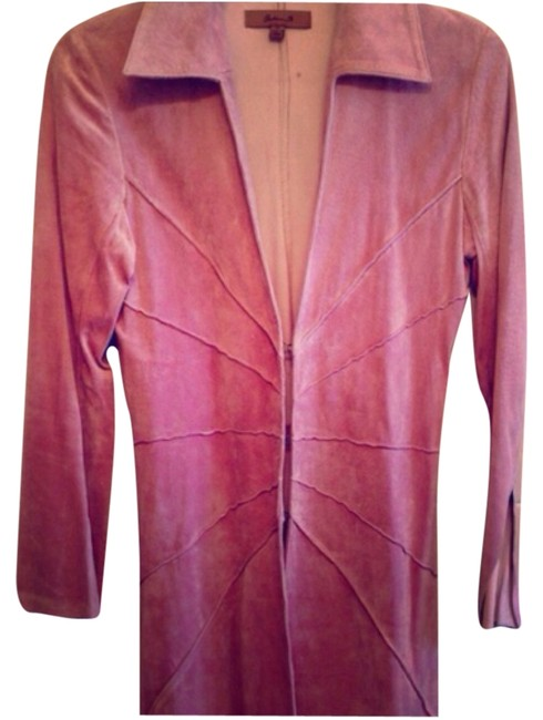Arden B. Pink Leather Jacket