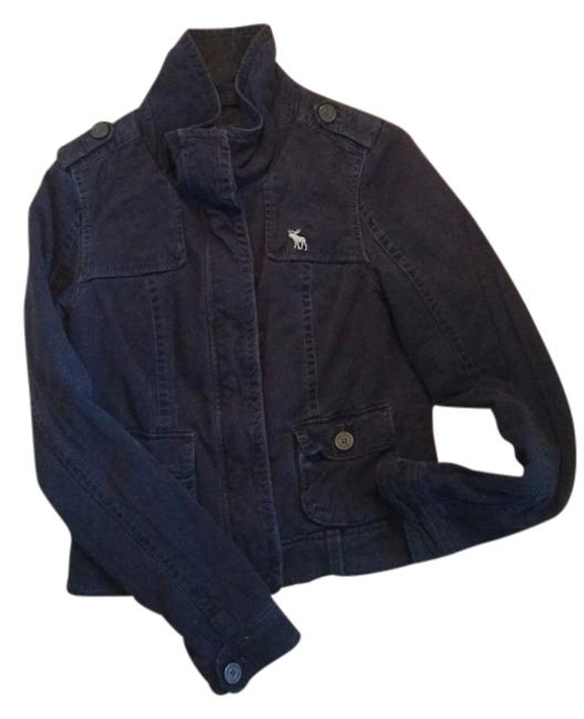 Abercrombie & Fitch Navy Womens Jean Jacket