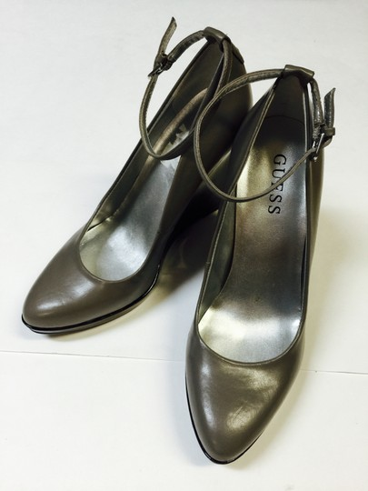 Guess Grey Wedges