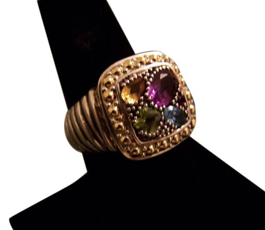 Preload https://item1.tradesy.com/images/effy-balissima-by-effy-multistone-square-ring-in-18k-gold-and-sterling-silver-6070045-0-5.jpg?width=440&height=440
