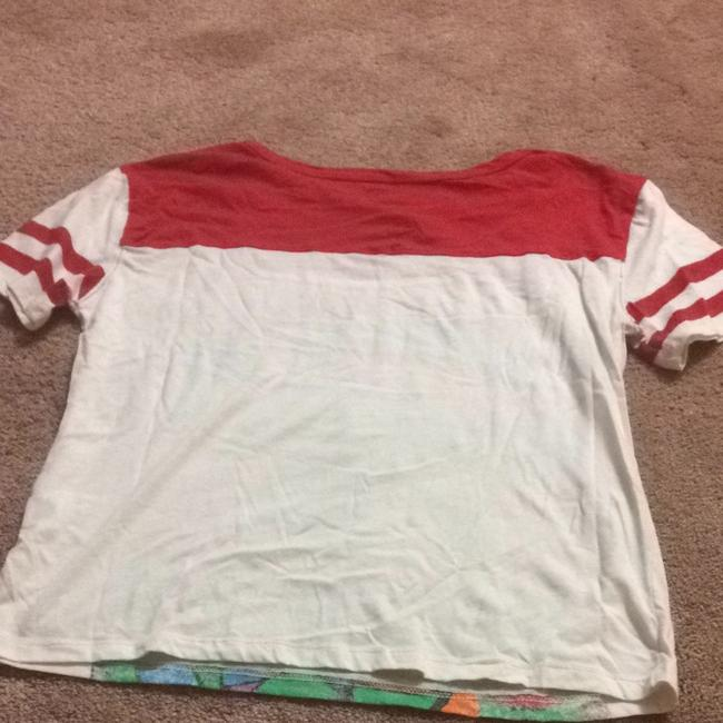 Other T Shirt Red/ White