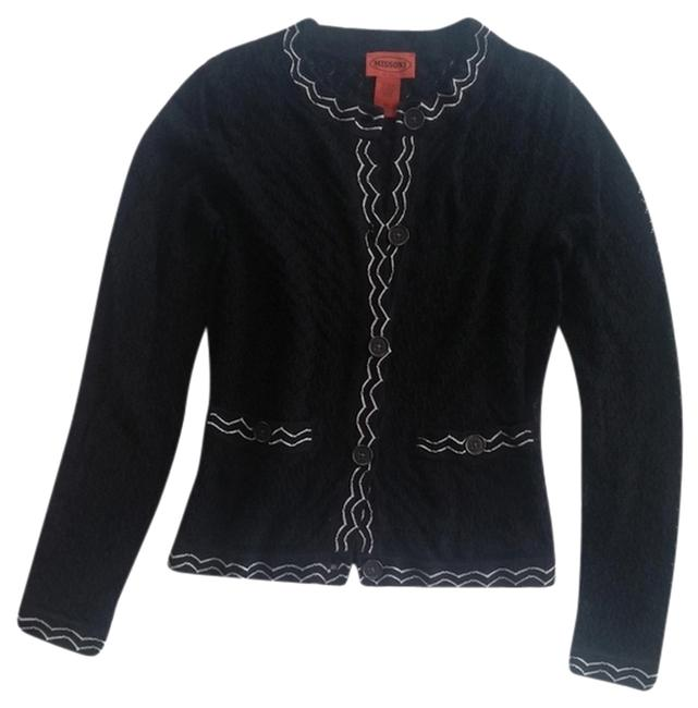 Preload https://item5.tradesy.com/images/missoni-for-target-black-and-white-cardigan-size-4-s-6070249-0-1.jpg?width=400&height=650