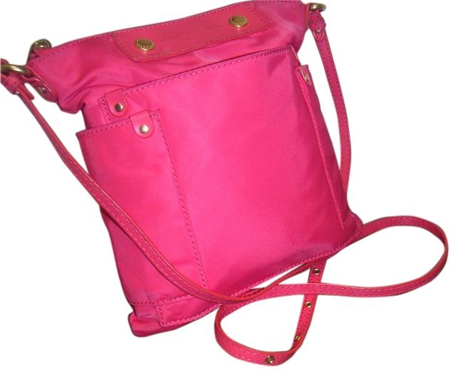 Item - Blossom Pink Nylon Cross Body Bag