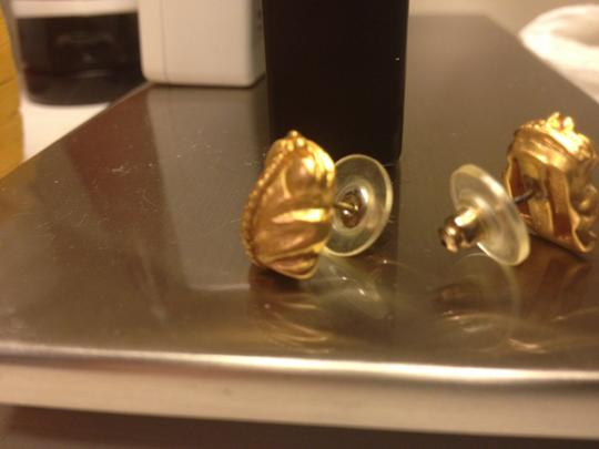 Other 24 k gold frog earrings from Costa Rica