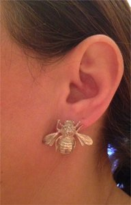 Other Silver Earring/ bee