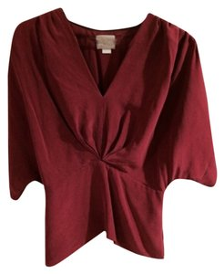 Anthropologie Top Magenta