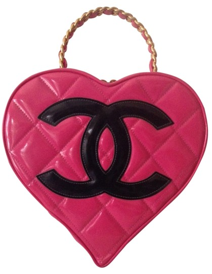 Preload https://item3.tradesy.com/images/chanel-case-rare-famous-vintage-vanity-pink-patent-leather-satchel-6071107-0-0.jpg?width=440&height=440