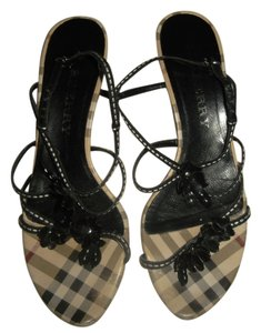 Burberry Nova Check Plaid Sandals