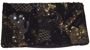 AllSaints Multicolor Sequins (black, Gold, Silver) Clutch