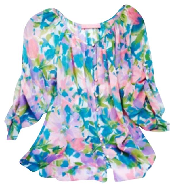 Robert Graham Top Floral print