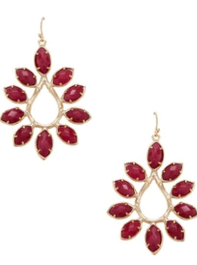 Kendra Scott Kendra Scott Nyla Floral Teardrop Earrings