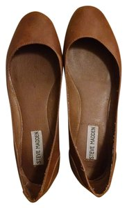 Steve Madden Brown leather Flats