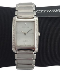Citizen Citizen Eco-Drive Diamond Bezel Watch