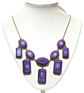 Kate Spade Kate Spade New York Purple Swirl Long Necklace