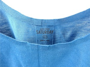 Kate Spade Saturday Seamless Top blue