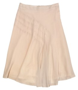 veronique branquinho Blush Silk Flowy Skirt