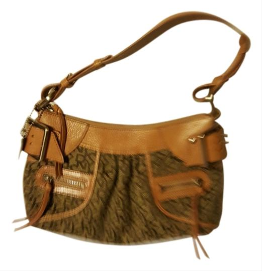 Preload https://item4.tradesy.com/images/dkny-with-silver-buckle-tan-cloth-shoulder-bag-6073573-0-0.jpg?width=440&height=440