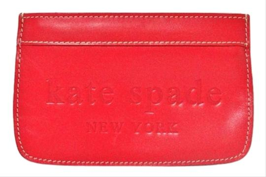 Kate Spade Kate Spade New York Pink Patent Leather Small Flat Pouch Wallet