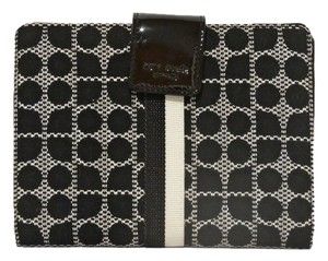 Kate Spade kate Spade New York Noel Stacy Black White Cotton Blend Photo Holder Wallet