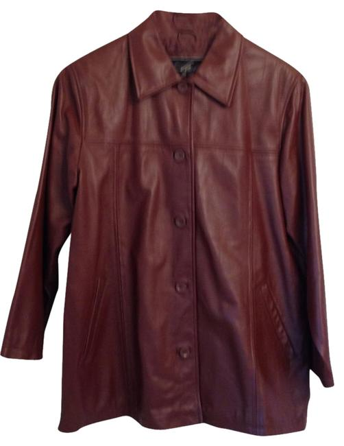 Atelier by B. Thomas Soft Great Year-round warm medium brown Leather Jacket