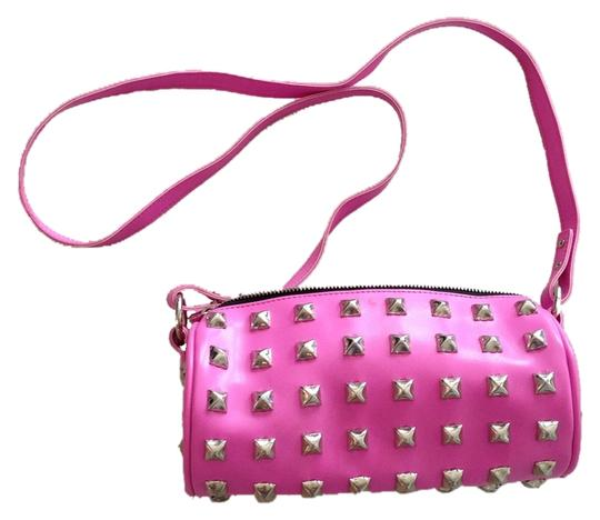 Preload https://item3.tradesy.com/images/studded-pink-other-cross-body-bag-6074287-0-0.jpg?width=440&height=440
