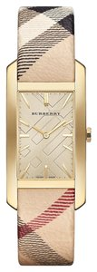Burberry Burberry Stainless Steel Case Leather Haymarket Women's Watch BU9407 25mm