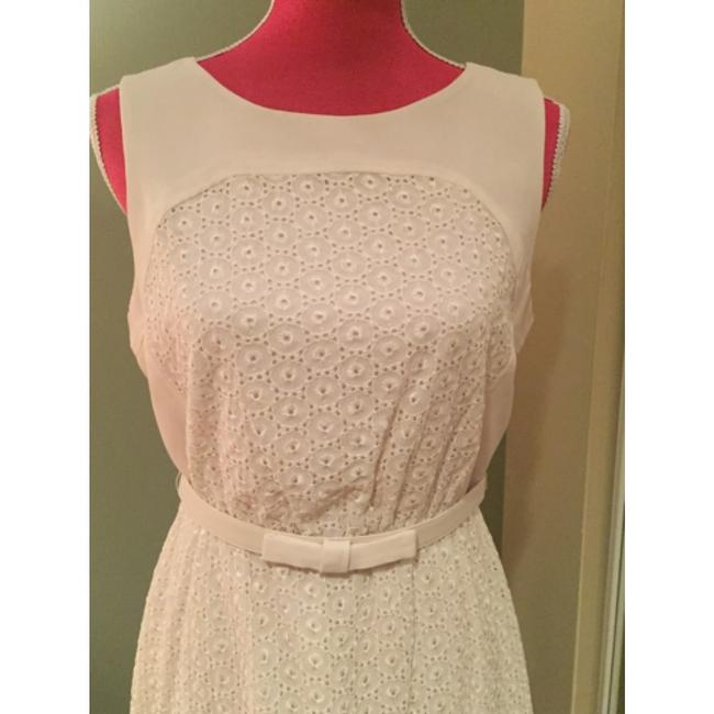 Max and Cleo short dress Beige Lace on Tradesy