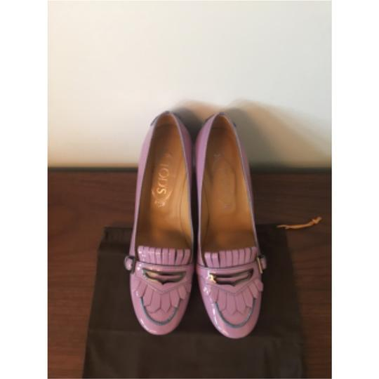 Tod's Purple Pumps