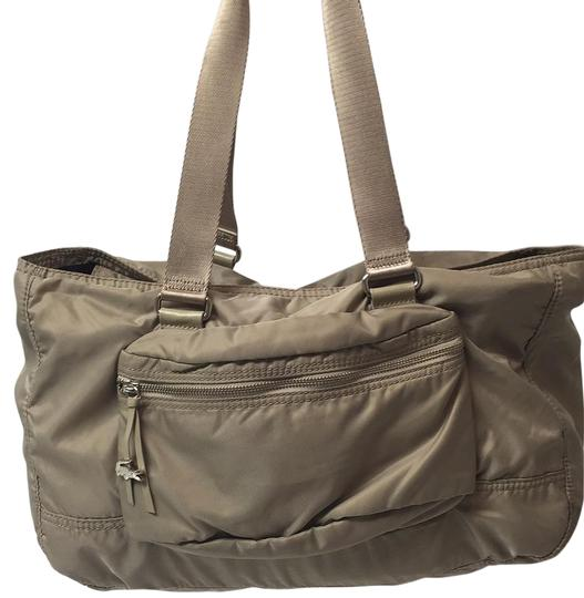 Preload https://item2.tradesy.com/images/lacoste-taupe-tote-6075811-0-2.jpg?width=440&height=440