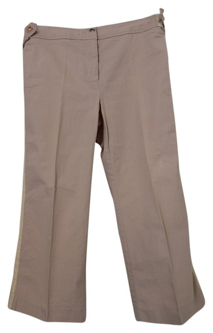 Whistles Capris dusty rose / cream
