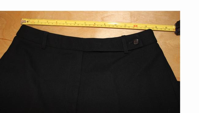 J.Crew Fully Lined Wool Straight Pants Black
