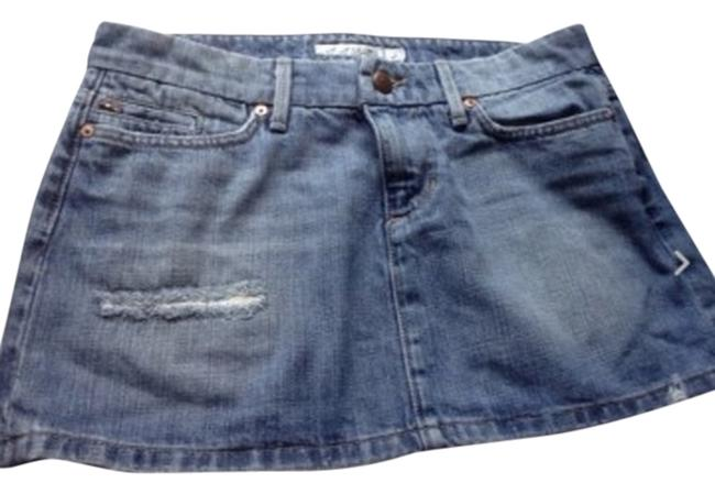 JOE'S Jeans Skirt Light Wash Denim