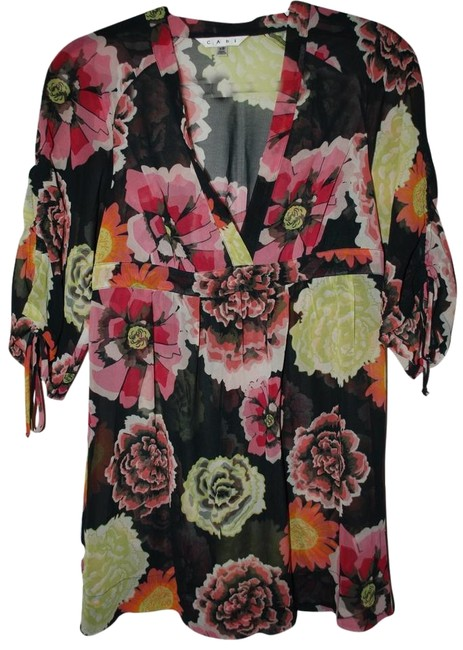 CAbi Empire Waist Cover-up Sheer Spring Summer Tunic