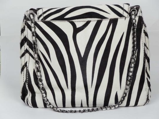 Prada Zebra Pony Ponyhair Ponyskin Shoulder Bag