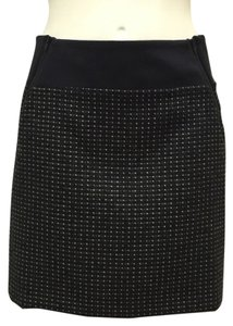 Theory Perennial Tweed Perennial Career Career Tweed Zipper Mini Skirt Black