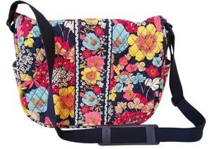 Vera Bradley Messenger Floral Laptop Multi/Floral Messenger Bag