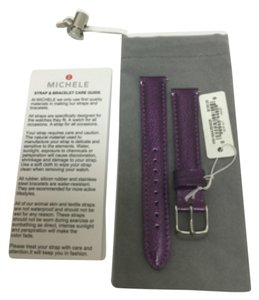 Michele NWT MICHELE STRAP 16mm VIOLET MS16AA350535