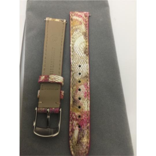 Michele NWOT Michele Pink Floral Fashion Patent Leather MS16AA350677