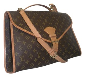 Louis Vuitton Messenger Cross Body Brown Messenger Bag