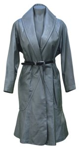 Betty Richards Silver Leather Jacket